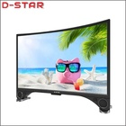 2019 lowest price curved tv screen 32 inch 55 inch 4k 65 inch smart with big sound