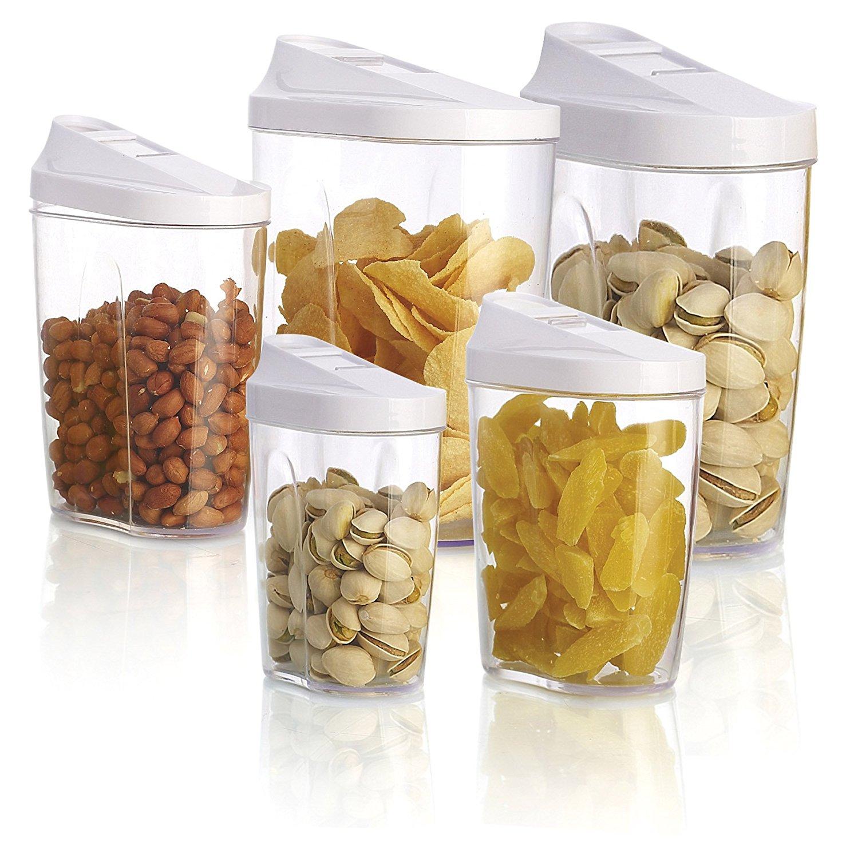 Buy 5pcs food storage organization plastic kitchen storage box nuts