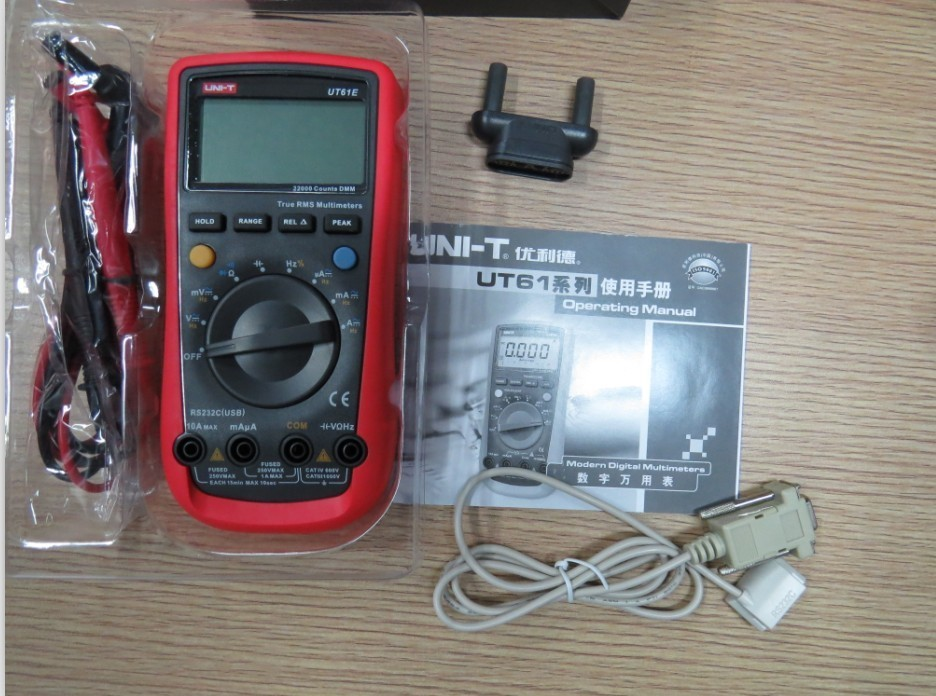 Standard Digital Multimeters UT61E