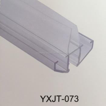 Pvc Glass Shower Door Bottom Seal Strip Weather Stip Rubber Sealing