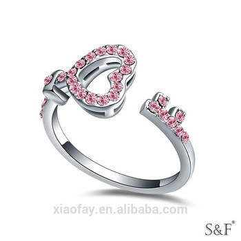 18372 China Supplier S Letter Ring
