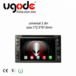 ugode double 2 din android 7 1 octa core car audio gps system for universal