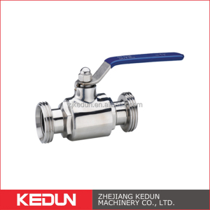 Stainless steel 304 316L Sanitary Clamp Flange Thread Ball Valve