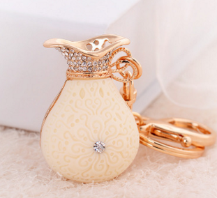 artistic l key chain chic for gift money bag new arrival
