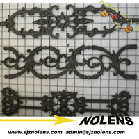 casting factory selling ornamental iron decoration
