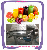 industrial commercial automatic stainless steel spiral orange carrot ginger juice making machine