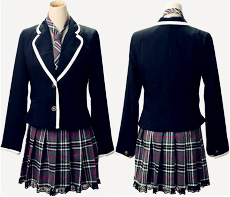 Custom High Quality Model Of Primary Middle School Uniform ...