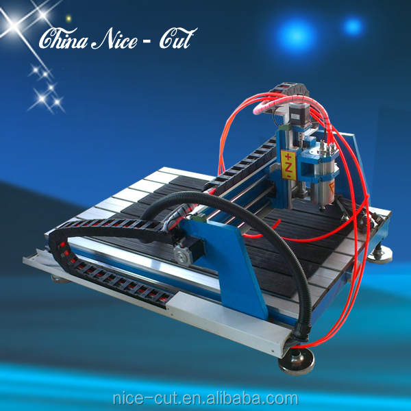cnc router metal engraving machine/mini cnc router desktop on metal