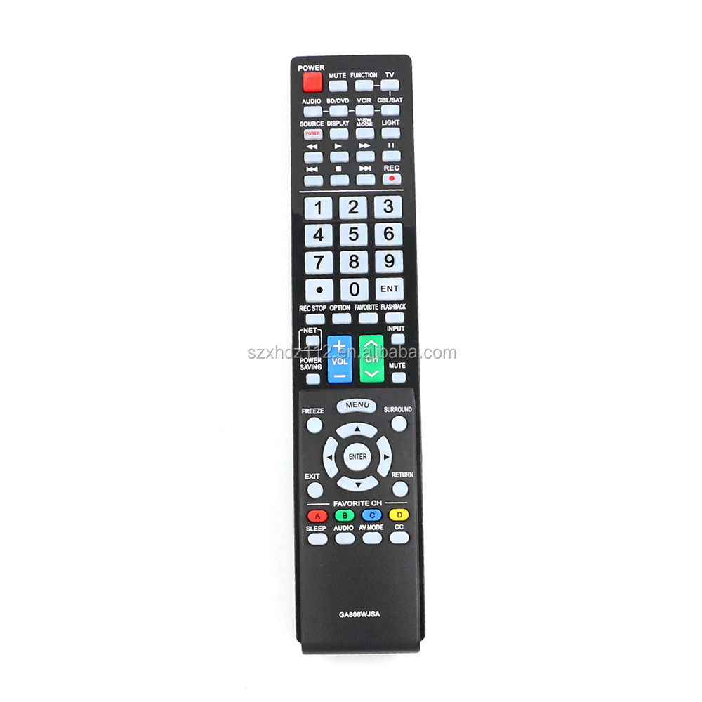 New GA806WJSA Remote Control fit for Sharp Aquos TV
