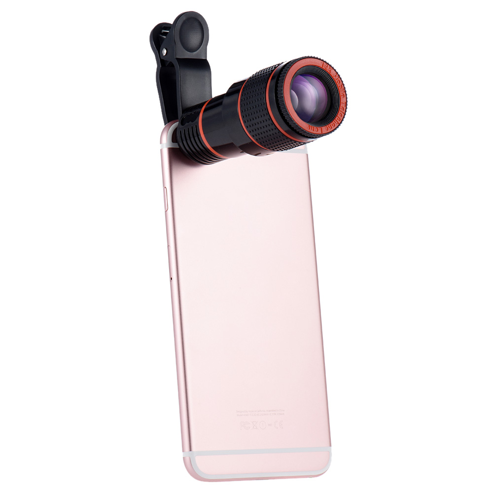 mobile phone telescope 12X telephone optical zoom camera lens for cellphone