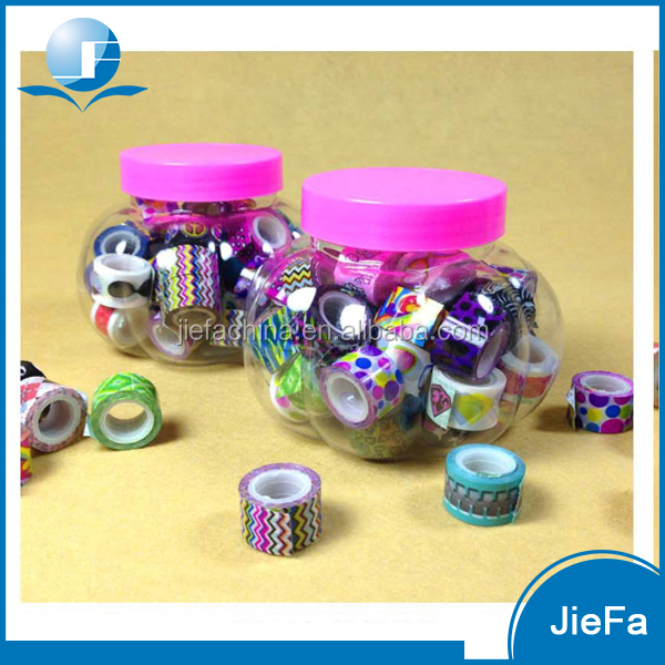 New design decorative floral packing tape for students book