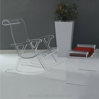 Bed Room Clear Acrylic Furniture Legs