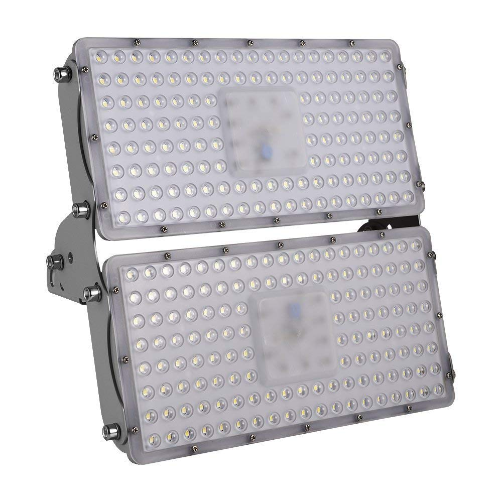 100/200/300/400W LED Flood Lights,Waterproof IP65 120 °Security Lights,Landscape Spotlights Outdoor Detachable, can be Assembled Wall Lighting for Garage, Garden, Lawn and Yard (Cold White, 200w)