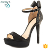 Phoees Fashion Lady High Heel Platform Shoes Party Dress Peep Toe Pump Shoes For Women