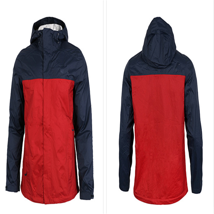 Seam Sealing 100% Polyester Light weight Rain Waterproof Man Hiking Camping Cycling Jackets