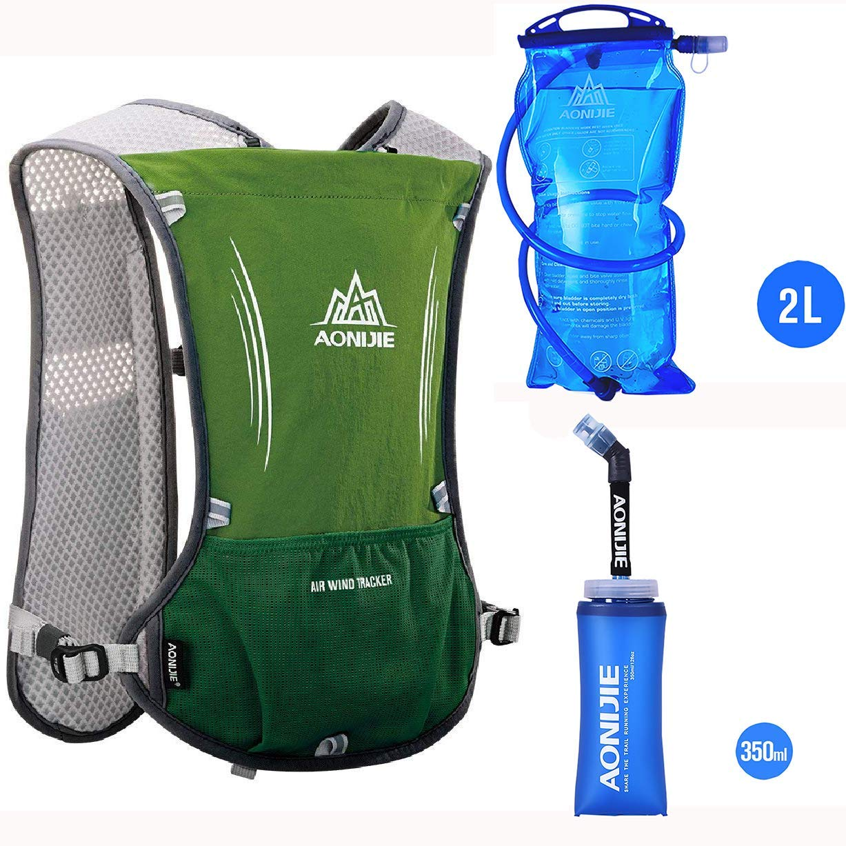 3880bed6b032 Buy AONIJIE Hydration Pack Backpack with 1.5L Water Bladder ...