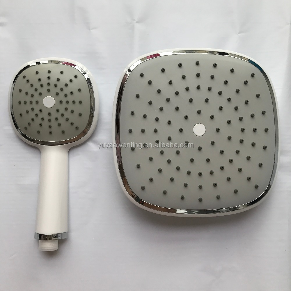 4/6/8/10/12 inch Stainless Steel Rainfall Shower Head Bathroom Square/round Showerhead Faucet Accessory