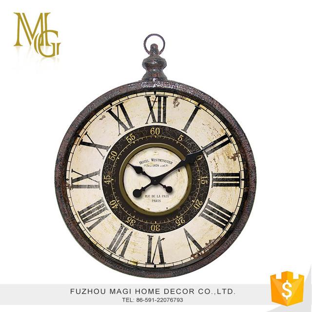 cm Royal Klasik Diputar Dua Sisi Jam Dinding Antik (Nomor . Source . ff9f729596