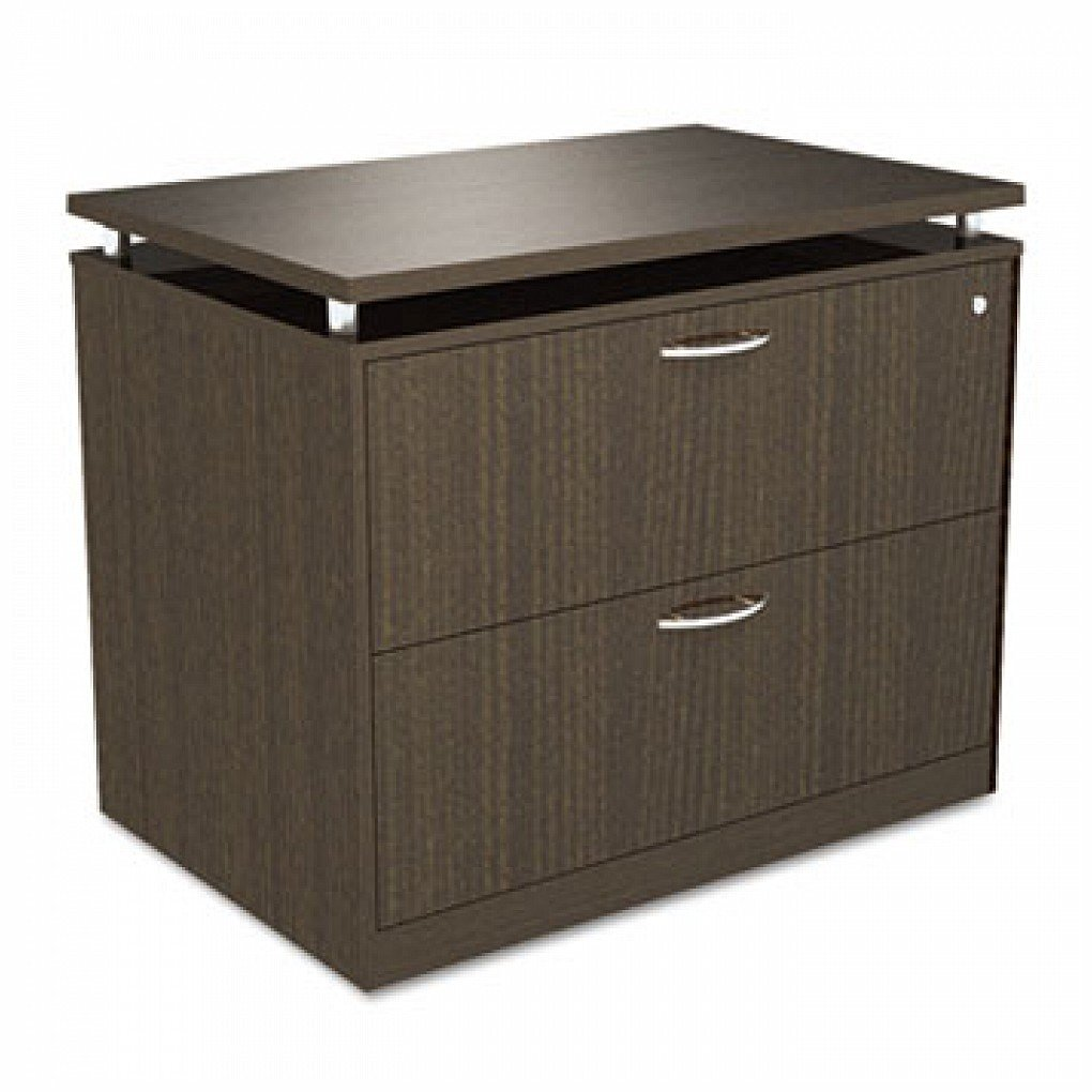 * SedinaAG Series Two-Drawer Lateral File, 34-1/4w x 22d x 29-1/2h, Espresso