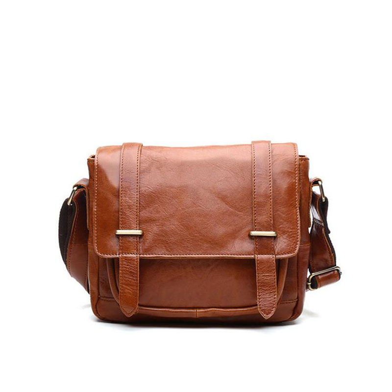 Dreamtop DTA010 Leisure style mens leather laptop bag alibaba messenger made in China