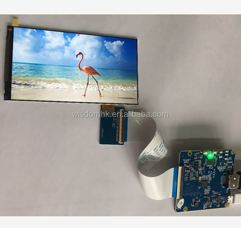 For Raspberry Pi 3 5 5 Inch 1440x2560 2k Ips Lcd Screen Display With Hdmi  To Mipi Controller Board - Buy Raspberry Pi 3,Raspberry Pi 3 Lcd Screen,Pi  3