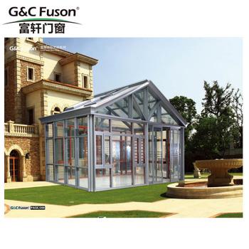 G & C Fuson Profesional Personalizado Terraza Acristalada De Aluminio 4  Temporada De Invierno Jardín Gazebo Pérgola Terraza Acristalada - Buy  Sunroom ...