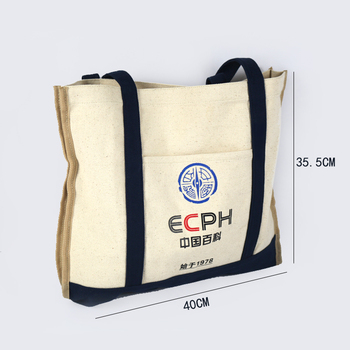 7c1a78d6a natural sailcloth sack cotton duck canvas carry bag custom printed logo canvas  bag