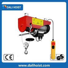 overhead crane electric wire rope hoist/ wire rope winch/electric hoist for sale