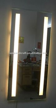 Light Up Floor Mirror - The Ground Beneath Her Feet