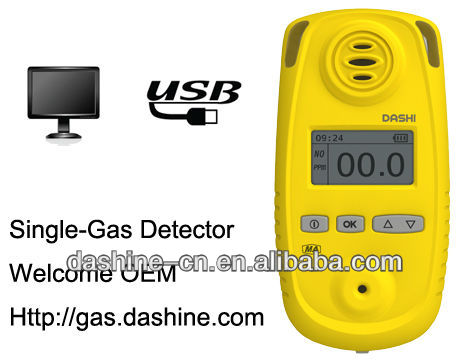 Portable Gas Detector for Nitric Oxide Gases NO, NO2