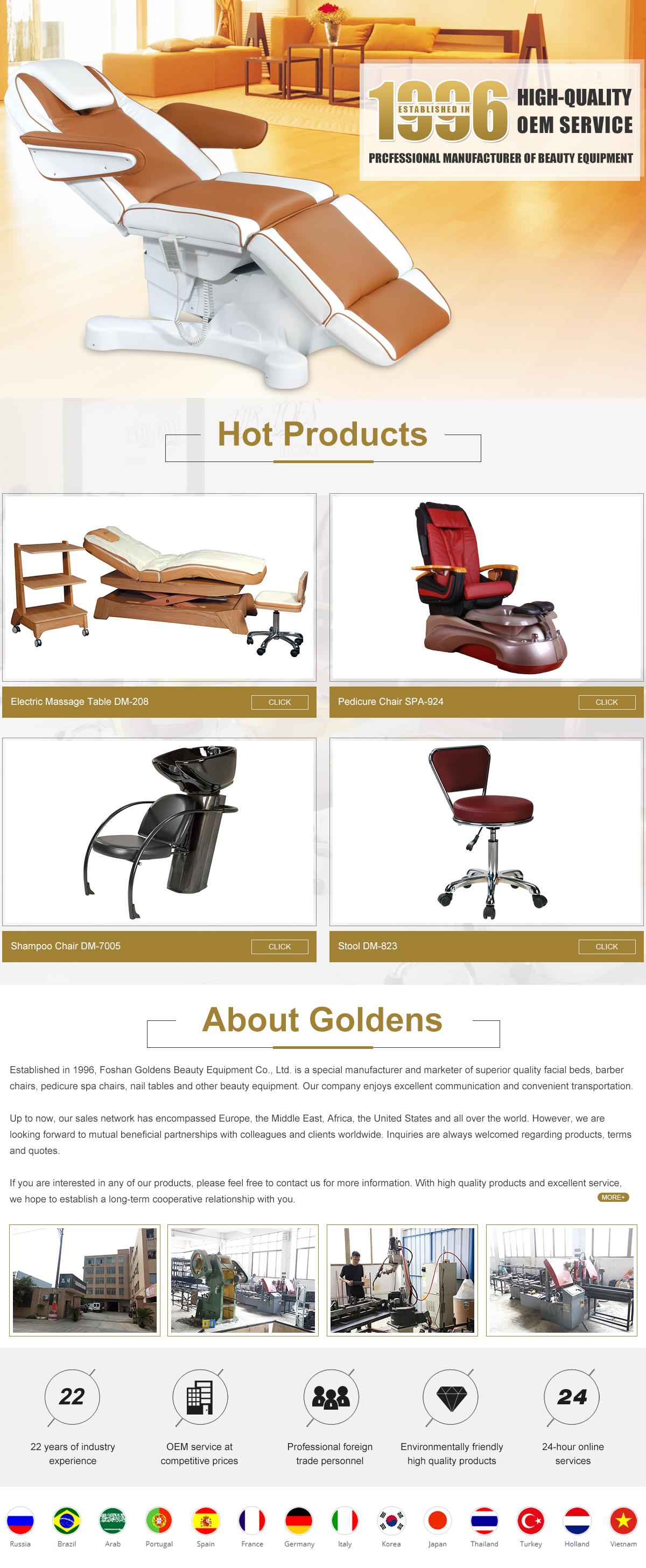 Foshan Goldens Beauty Equipment Co., Ltd. - Beauty Furniture ...