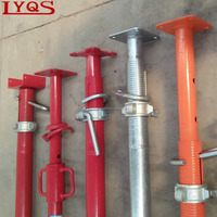 Different Shape Formwork Scaffolding u-head Jack Shoring Jack Acrow Props Mobile Tripod Metal Post for Bear Capacity Building