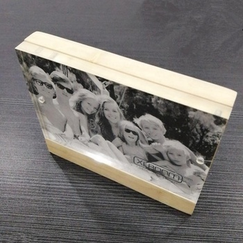 Acrylic magetic photo frame wooden picture frame acrylic wooden photo frame
