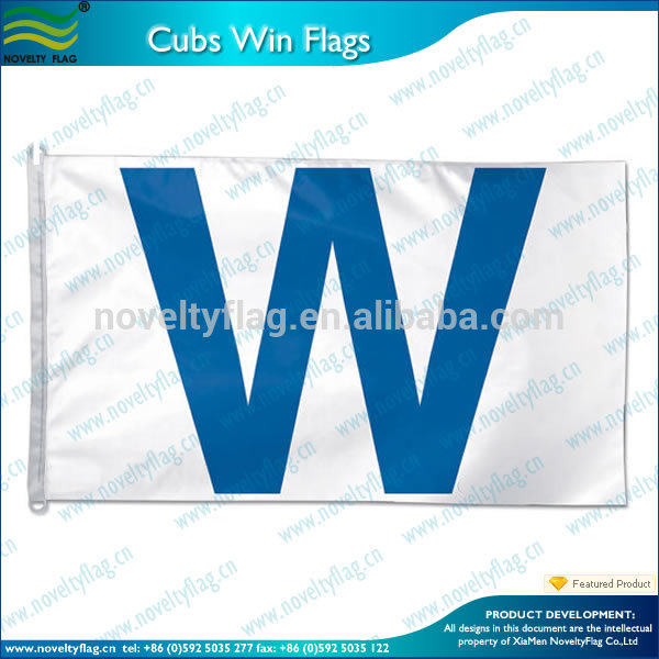 Chicago Cubs Win Wrigley Field W Flag