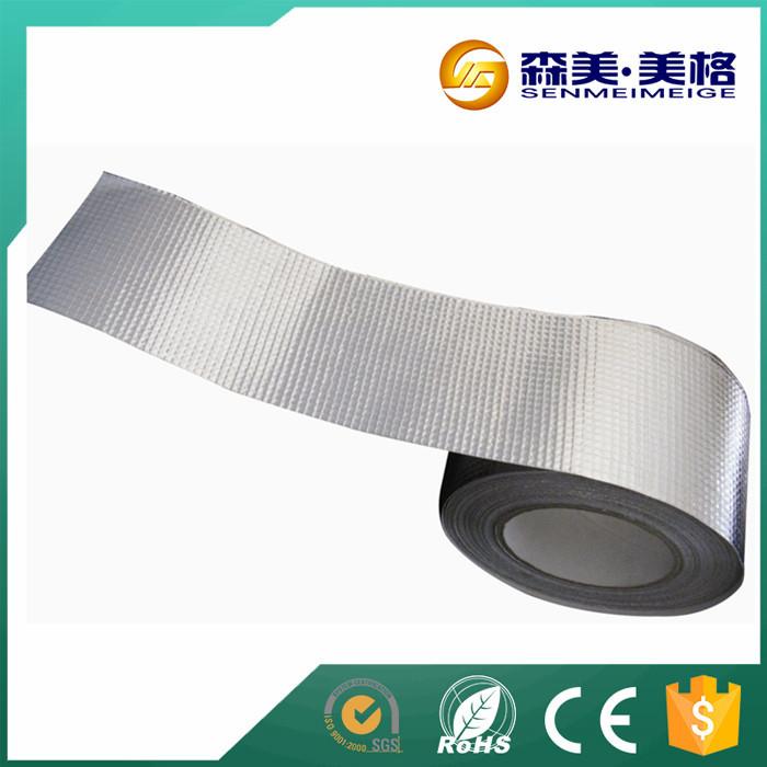 Reinforced Heat Resistant Fireproof Self Adhesive Aluminum Foil ...