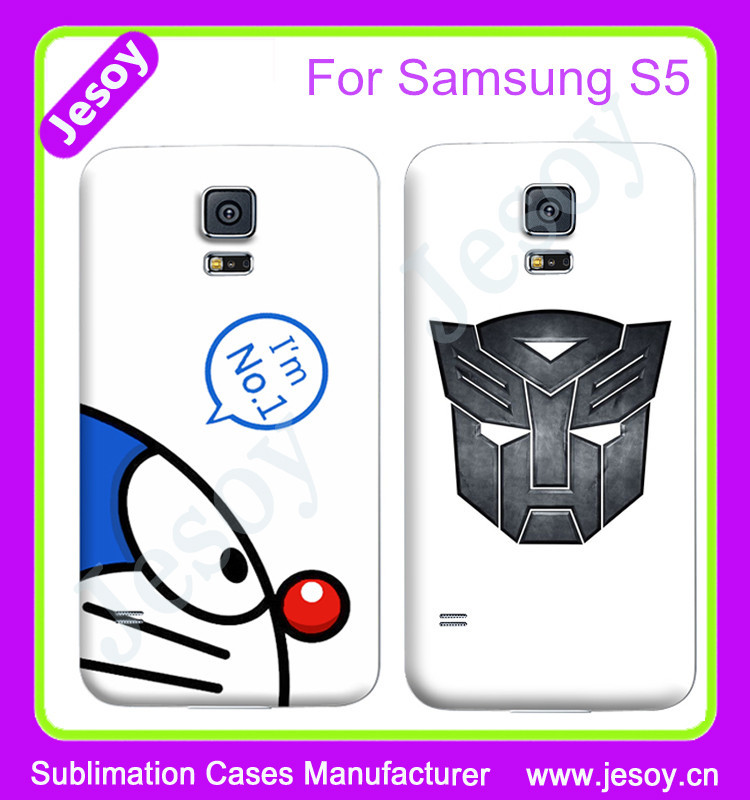 JESOY Wholesale Colored Drawing TPU Case For Samsung Galaxy S5 Casses