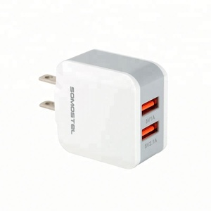 2 port promotional usb car charger mini car mobile bettery charger for car