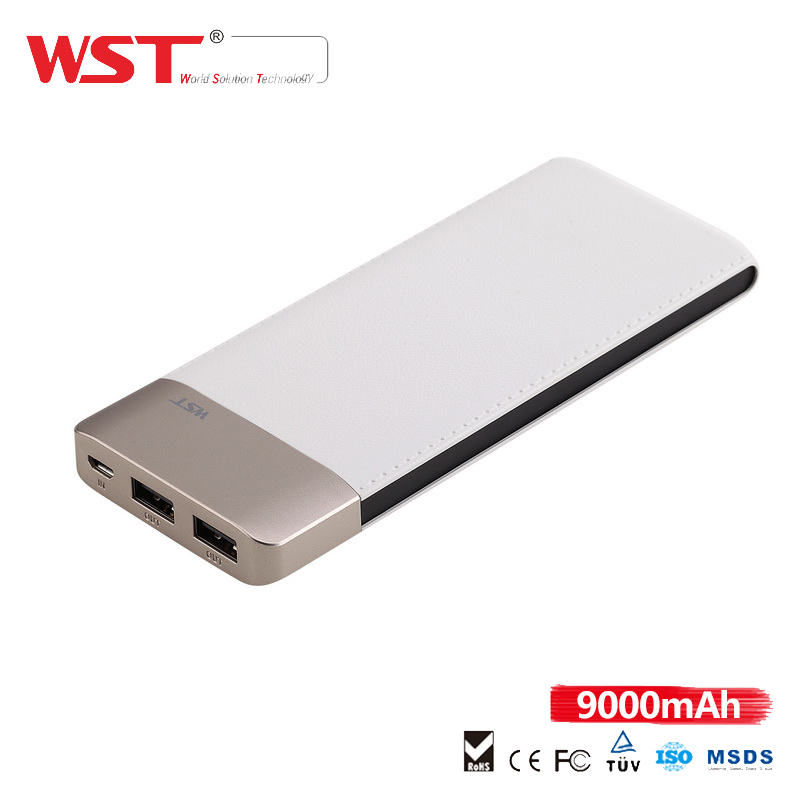 OEM/ODM Manufacture White/Black power bank battery
