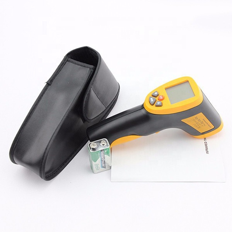 HT-826 Laser LCD Digital IR Infrared Thermometer Temperature Meter Gun Point 50~380 Degree Non Contact Thermometer - KingCare   KingCare.net