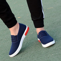 Good quality new products soft canvas simple mens casual shoes