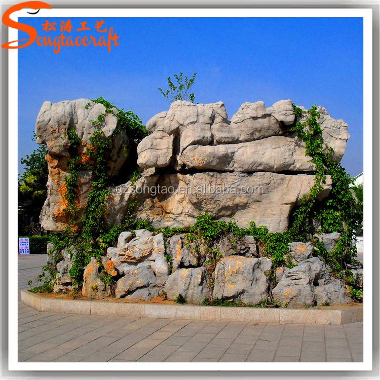 Art stico simulaci n artificial piedra fuente fuente for Piedra artificial decorativa