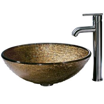 Vessel Sinks Cheap Cylinder Glass Fish Bowl Mop Glass Wash Basin Fitting