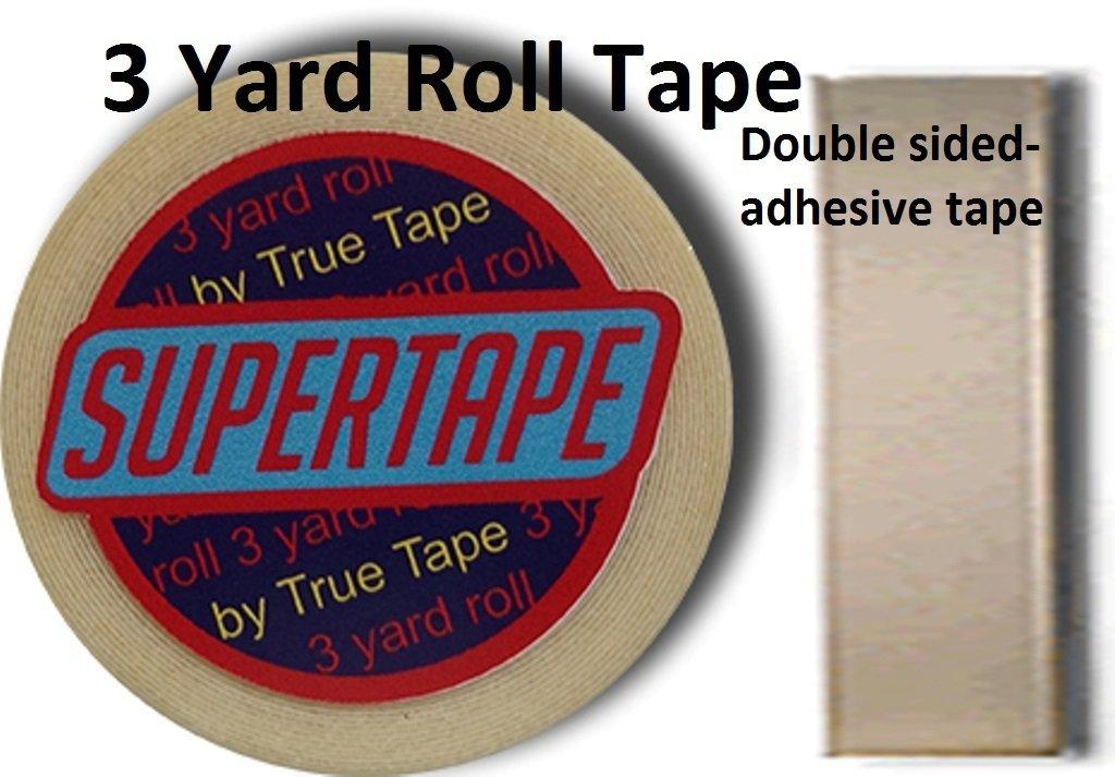 """Supertape 1"""" X 3 Yard Roll Tape Non Glare Lace Wig"""
