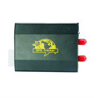 Online Mobile Tracking Software TK103-2 Vehicle GPS Tracker for Car with Car Alarm System and GEO Fence