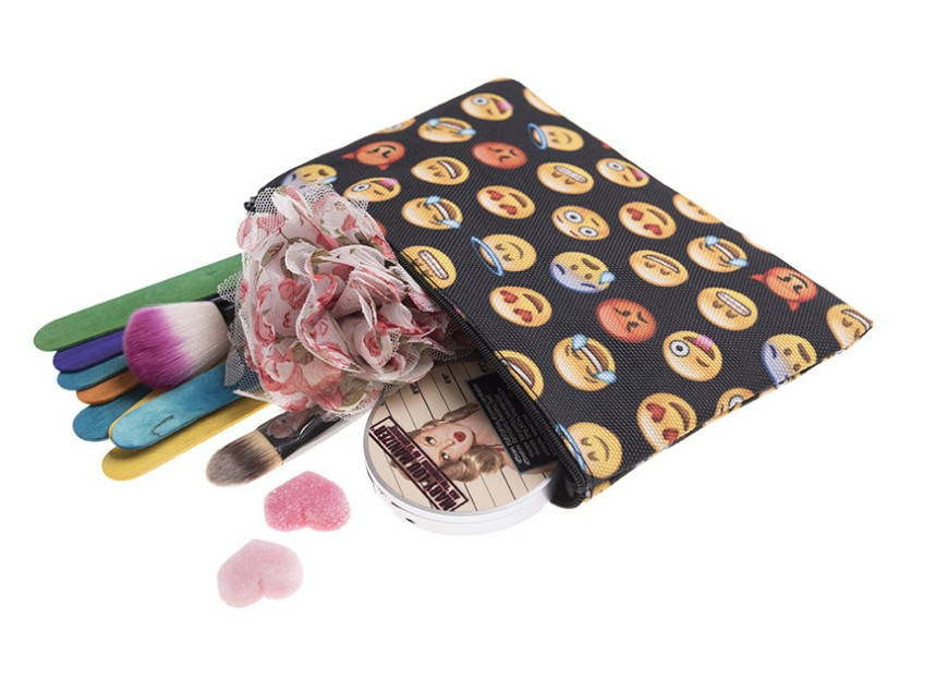 OEMPROMO cheap custom make up portable cosmetic bag