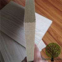 Plywood Oak Veneer Faced 18mm MDF Board Factory