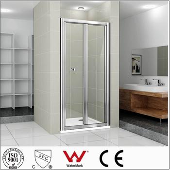 Porte Coulissante En Verre Pour Salle De Bain utilisé cadre en aluminium coulissante en verre porte de douche pour