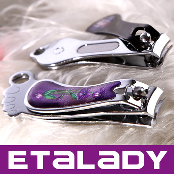 Nail cutter Carbon steel nail clipper with epoxy