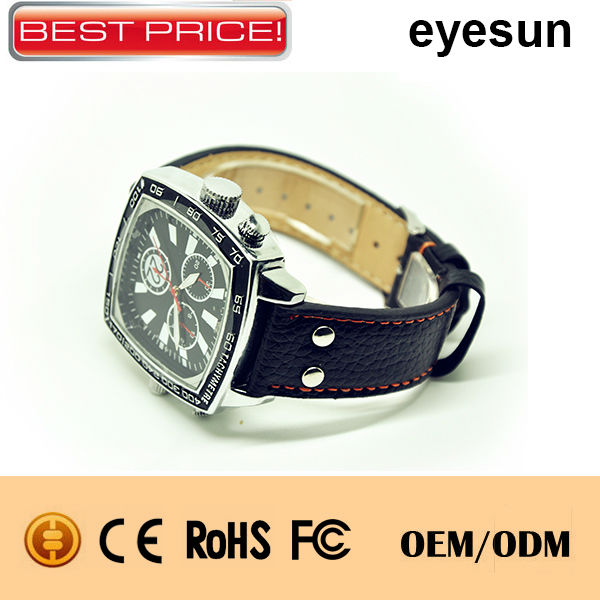 Full HD 1080P hidden watch camera ,night Vision spy camera watch