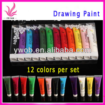Oumaxi Nail Art Acrylic Paint Diy Paint Set Buy Nail Acrylic Paint
